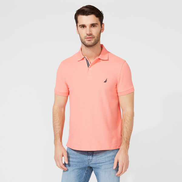 SLIM FIT DECK POLO - Pale Coral