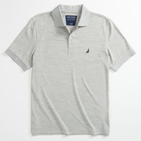CLASSIC FIT NAVTECH PERFORMANCE POLO - Grey Heather