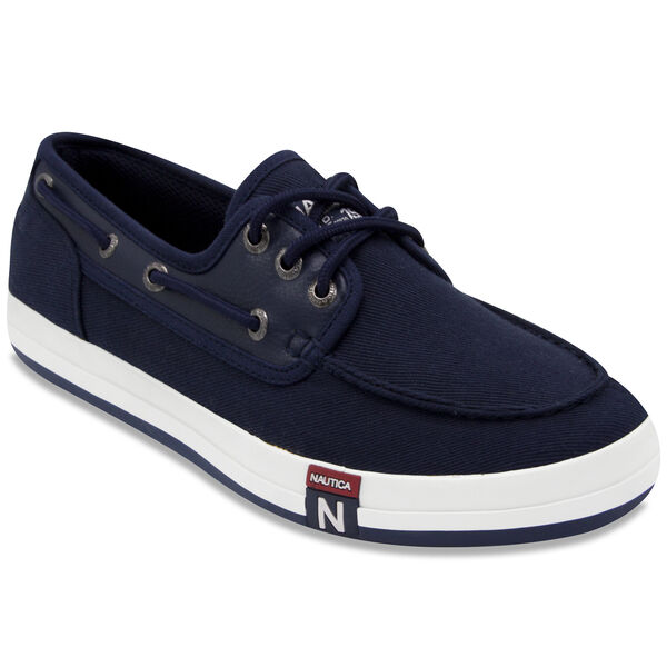 Spinnaker III Boat Shoes - Navy - Navy