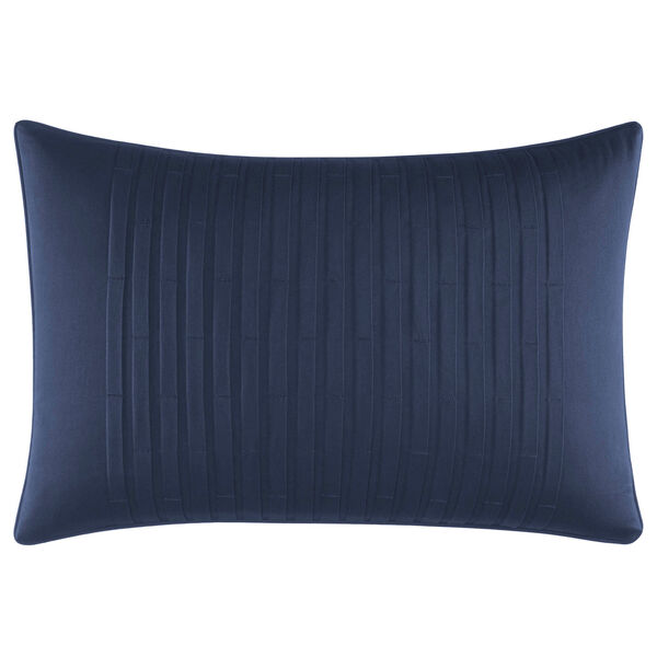 Waterbury Blue Pillow - Navy