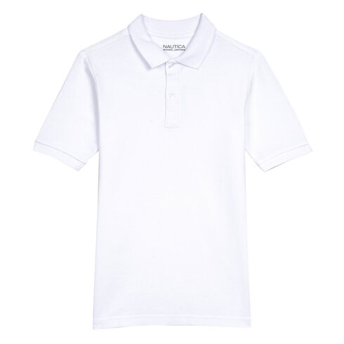 Little Boys' Short Sleeve Pique Polo (4-7) - undefined