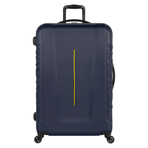 "Vernon Bay 28"" Hardside Spinner Luggage in Navy/Yellow - Navy"