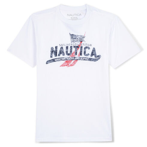 Boys' Hamilton Graphic T-Shirt (8-20) - White