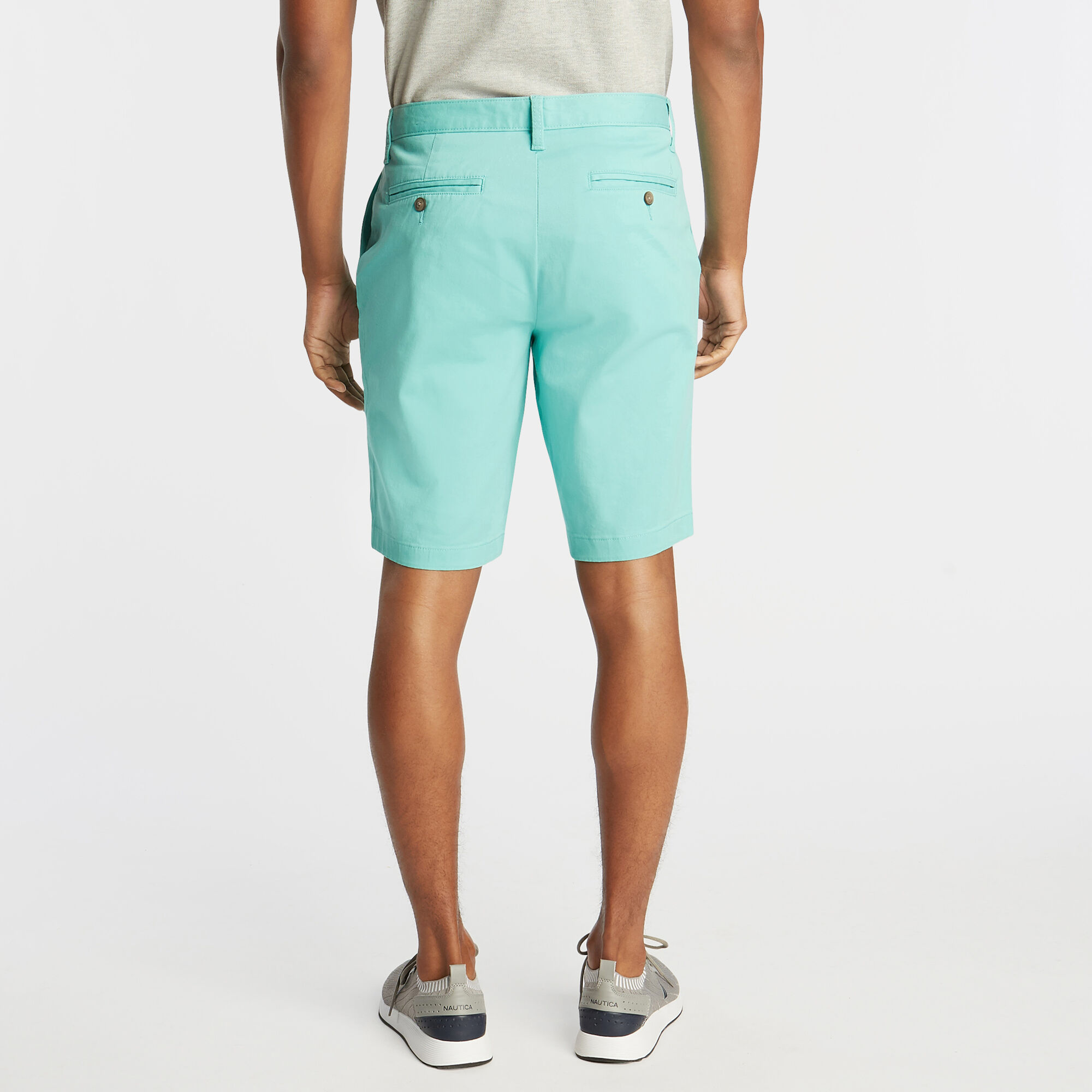 Nautica-Mens-10-034-Classic-Fit-Deck-Shorts-With-Stretch thumbnail 23