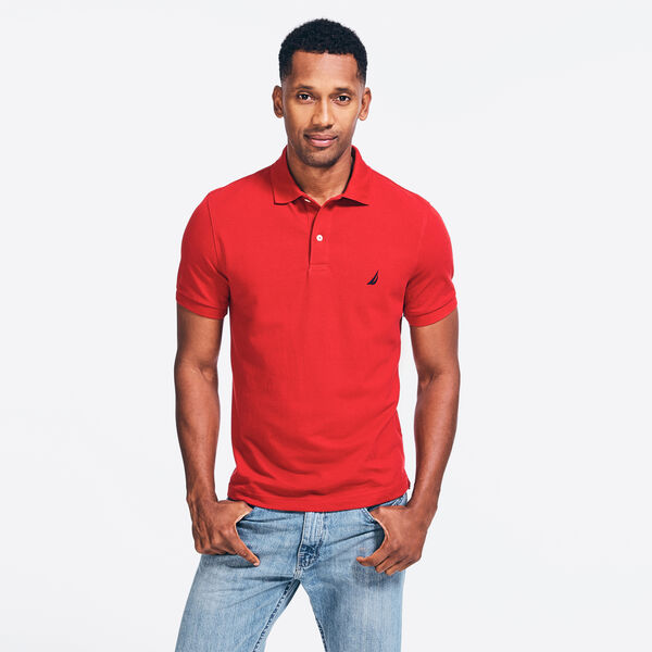 CLASSIC FIT DECK POLO - Nautica Red