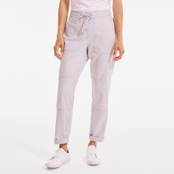 SUSTAINABLY CRAFTED UTILITY PULL-ON PANT - High Rise