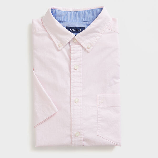 CLASSIC FIT STRETCH OXFORD SHIRT - Cradle Pink