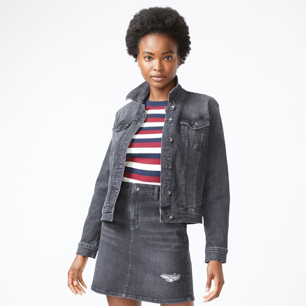 NAUTICA JEANS CO. DENIM JACKET - Black Onyx