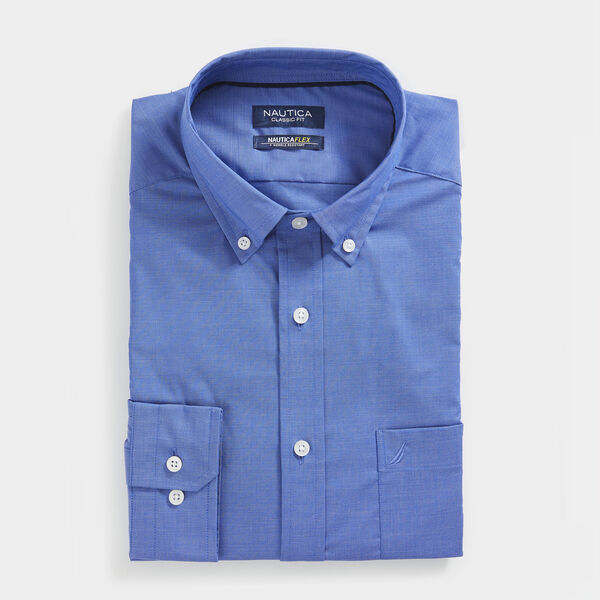 CLASSIC FIT WRINKLE RESISTANT SOLID SHIRT - Rolling River Wash