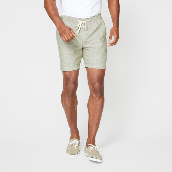 "7"" CHAMBRAY BOARDWALK SHORT - Hillside Olive"