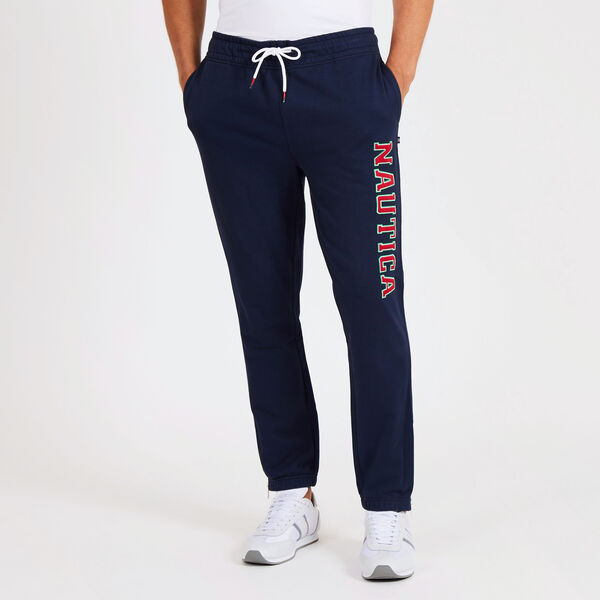 Big & Tall French Terry Souvenir Joggers - Navy