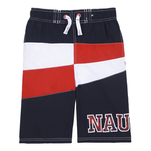 BOYS' KAHU SWIM TRUNK IN COLORBLOCK (8-20) - Sport Navy