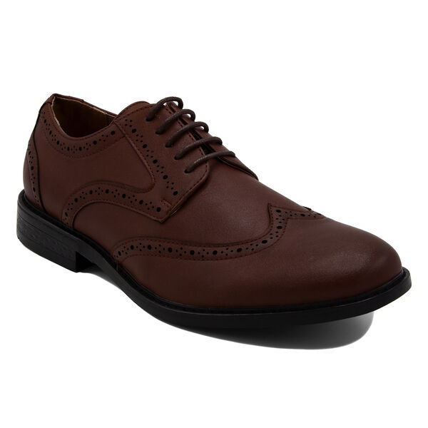 Miles Oxford in Burnished Burgundy - Burgundy