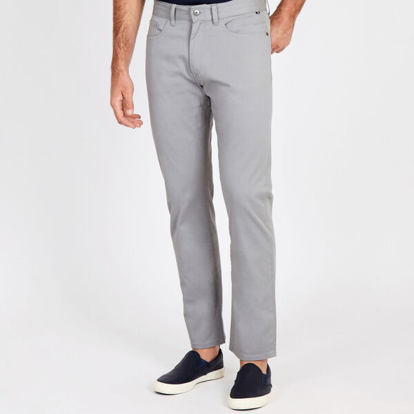 Straight Leg 5-Pocket Pant - Moon Rock