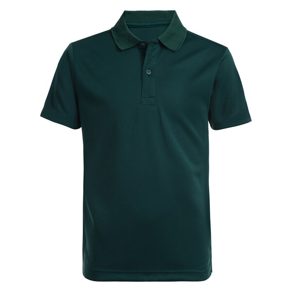 BOY'S HUSKY PERFORMANCE POLO (8H-20H) - Verdant Green