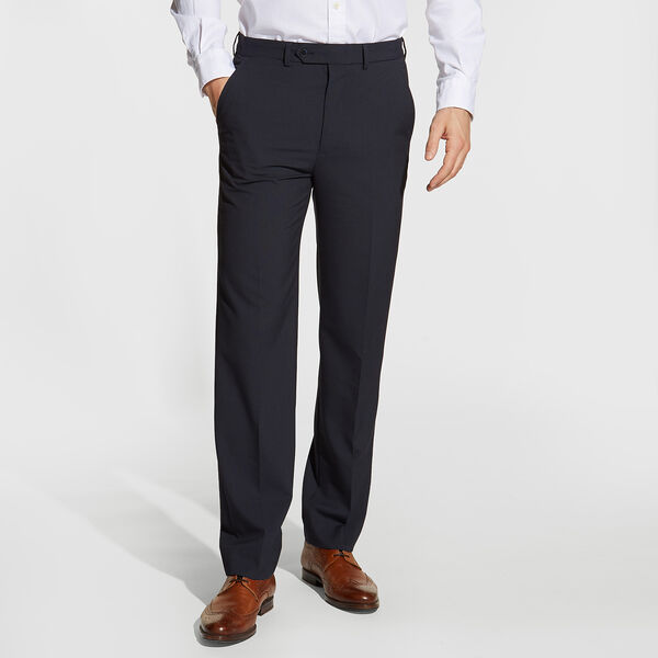 Ceylon Plaid Dress Pants - Tugboat Blue