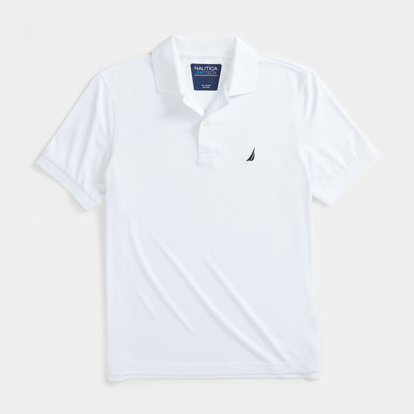 CLASSIC FIT NAVTECH PERFORMANCE POLO - Bright White