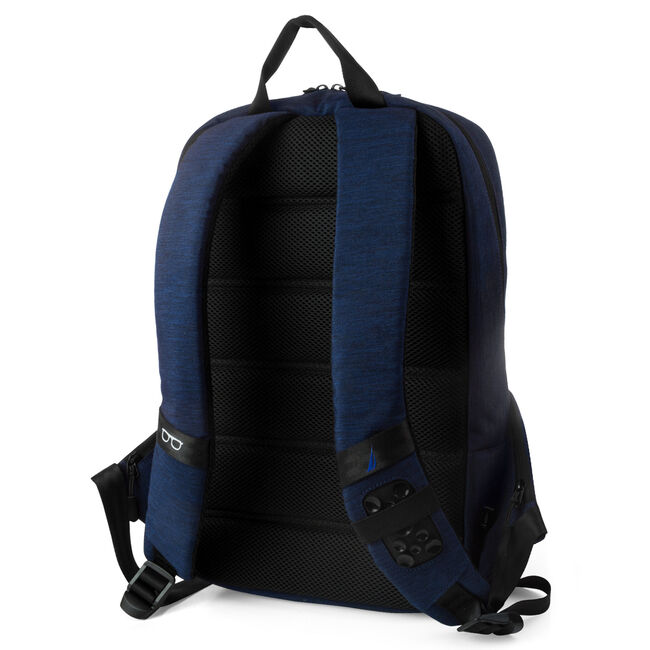 Quilted Pocket Tech Backpack,Peacoat,large