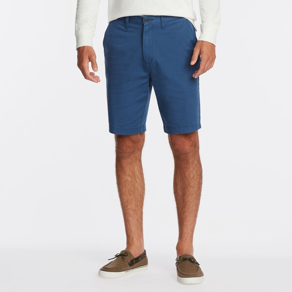"10"" CLASSIC FIT DECK SHORTS WITH STRETCH - Ensign Blue"