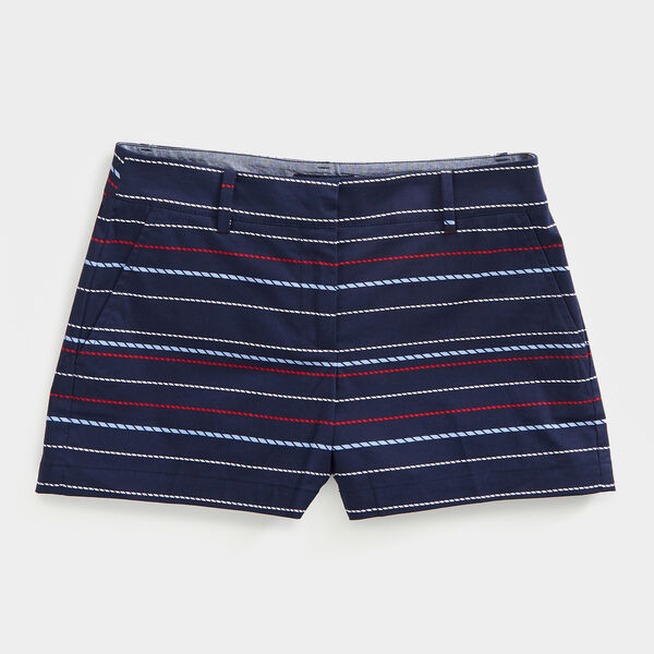 "4"" ROPE PRINT SHORTS - Stellar Blue Heather"