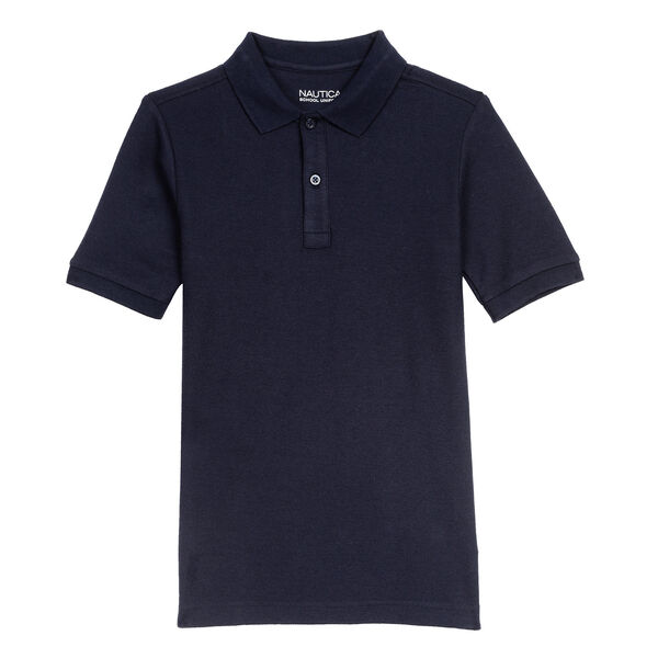 Little Boys' Short Sleeve Pique Polo (4-7) - Workshirt