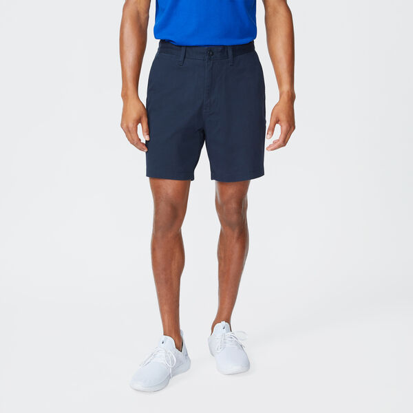 "6"" CLASSIC FIT DECK SHORTS WITH STRETCH - True Navy"
