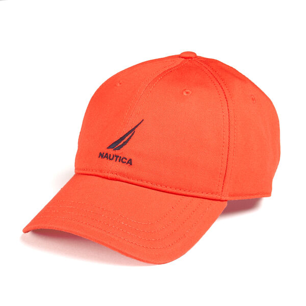 J-CLASS EMBROIDERED CAP - Firey Red