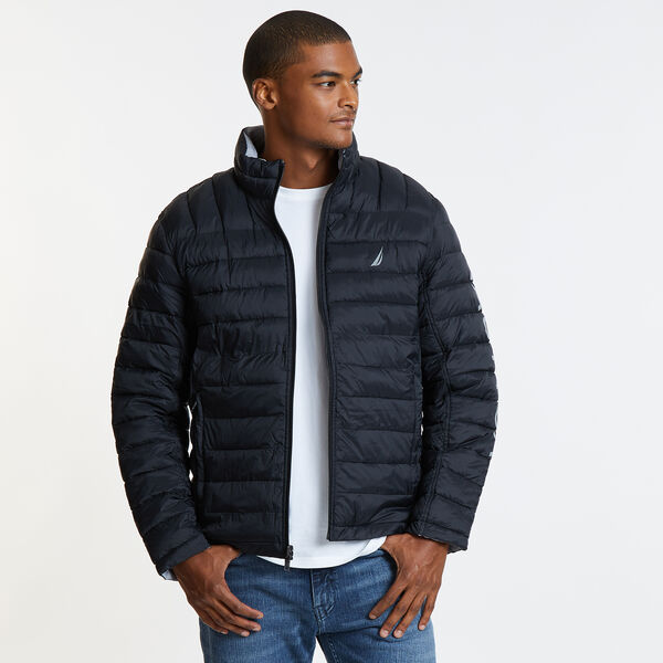 Endeavour Quilted Reversible Jacket - True Black