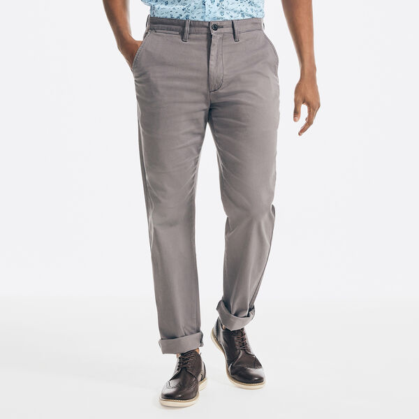 CLASSIC FIT STRETCH TWILL PANT - Castlerock Grey