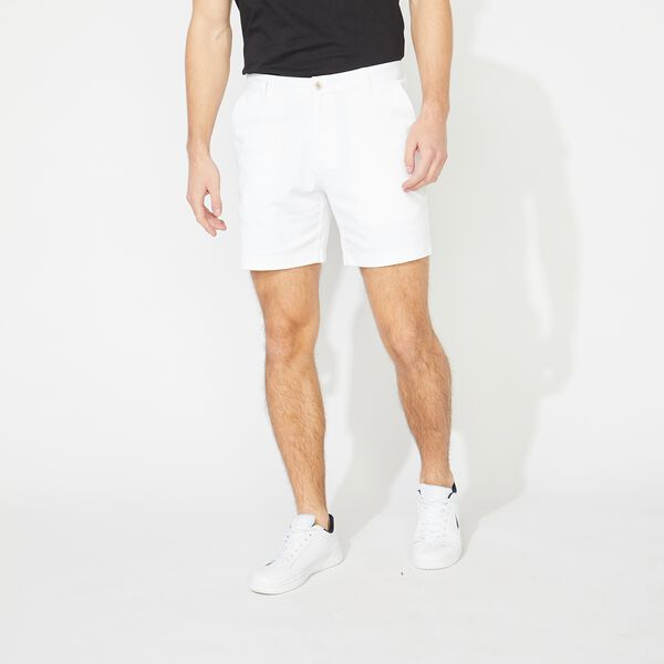 "6"" CLASSIC FIT DECK SHORTS - Bright White"