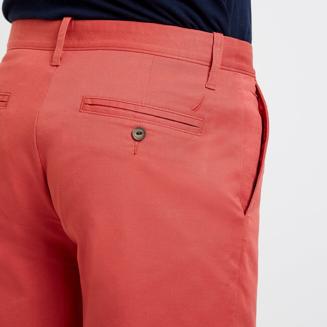"8.5"" Deck Short with Stretch,Mineral Red,large"