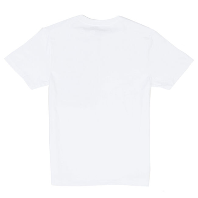 Toddler Boys' Coast Anchor Crewneck Solid Tee (2T-4T),White,large