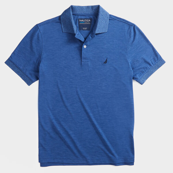 CLASSIC FIT PERFORMANCE POLO - Stellar Blue Heather