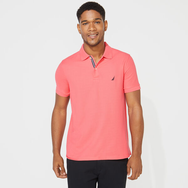 SLIM FIT DECK POLO - Persian Red