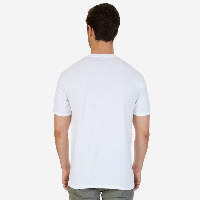 'N' 1983 Graphic T-Shirt,Bright White,large