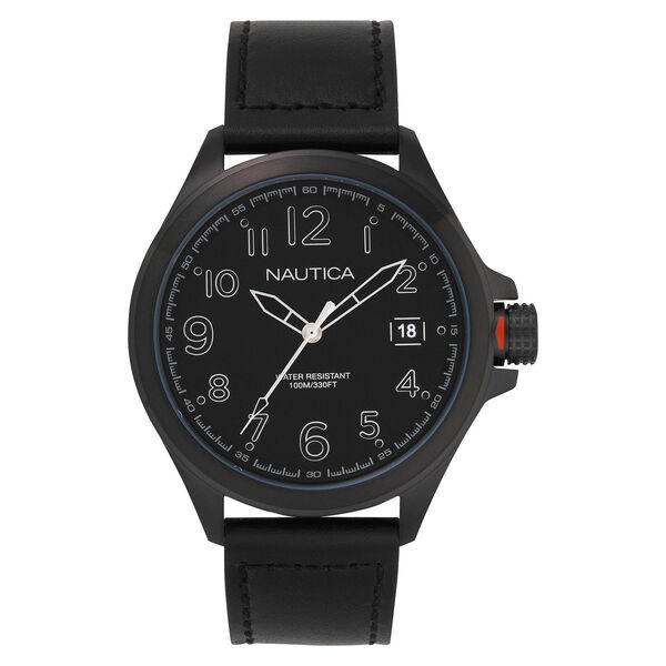Glen Park Watch with Leather Band - Multi