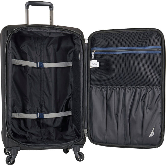 "Gennaker 29"" Expandable Spinner Luggage,True Black,large"