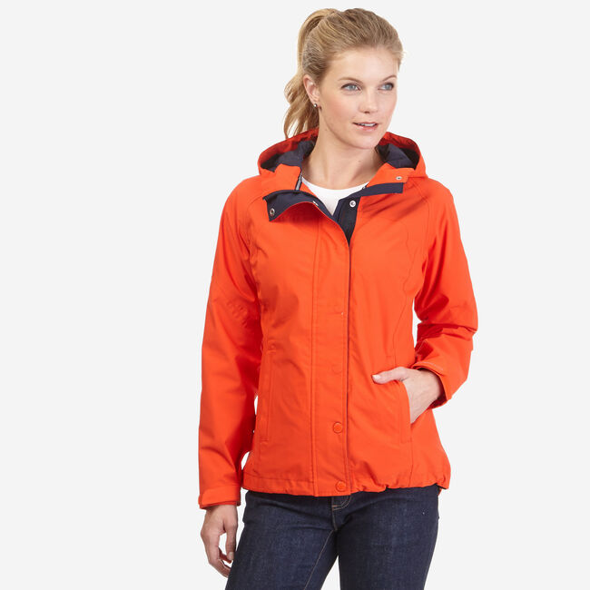 Rainbreaker Jacket,Mango,large