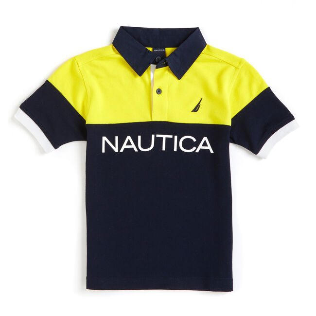 Toddler Boys' Seabreeze Heritage Polo (2T-4T),Sport Navy,large