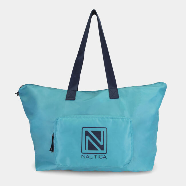 New Tack Packable Large Tote,Turquoise,large