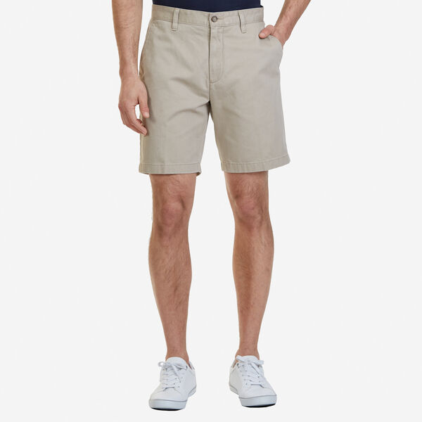 Big & Tall Flat Front Classic Fit Shorts - True Khaki