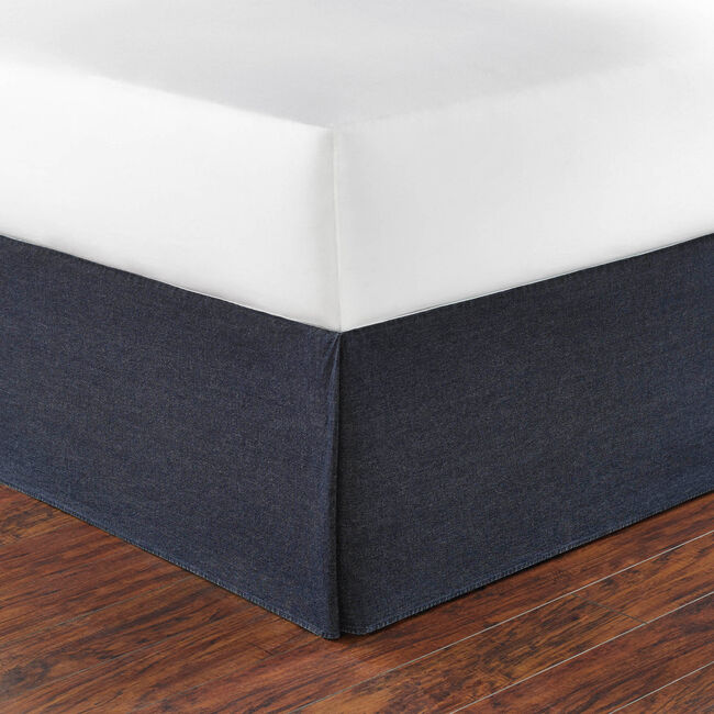 Seaward Bed Skirt,Naval Blue,large