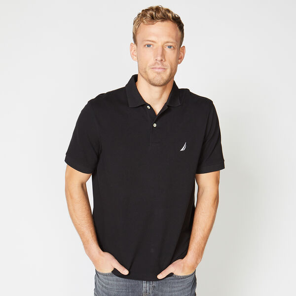 CLASSIC FIT DECK POLO - True Black