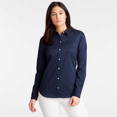 Wrinkle-Resistant Perfect Shirt - Deep Sea