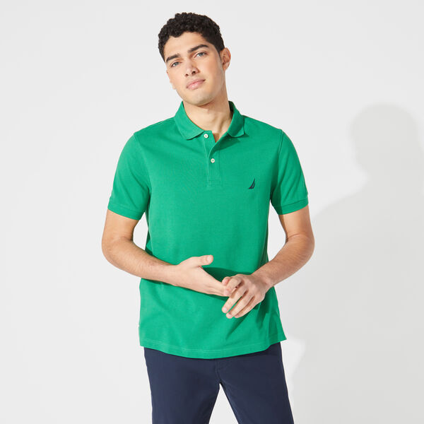 SLIM FIT DECK POLO - Bimini Green