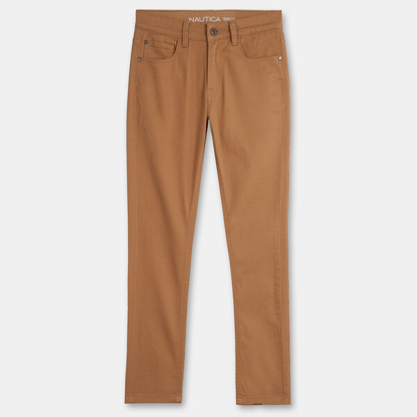 BOY'S 5-POCKET STRETCH TWILL PANT (2T - 4T) - Bronzed Yacht