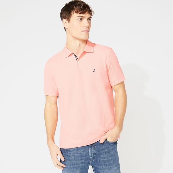 CLASSIC FIT DECK POLO - Pale Coral