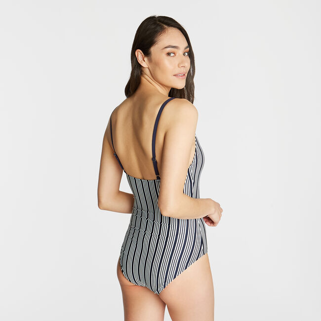 MIO LACED ONE-PIECE SWIMSUIT,Star Sapphire,large