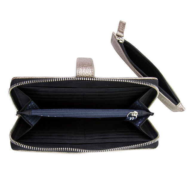 Plain Sailing Zip-Around Wristlet,Castlerock,large