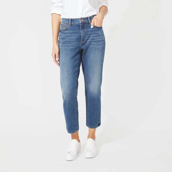 NAUTICA JEANS CO. MID RISE STRAIGHT LEG DENIM - Limoges